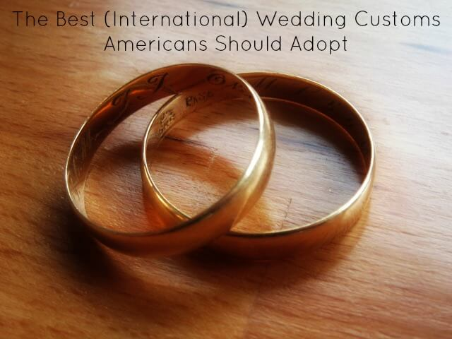 Wedding customs cover