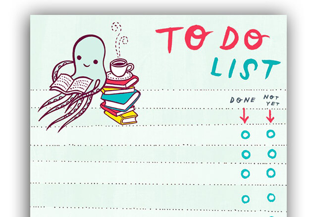 boygirlparty Print It, Finish It: Great Paper To Do Lists