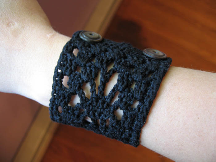 cuff Stitched from Head to Toe: Modern Day Crochet Trends
