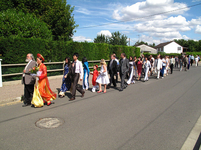 marriage parade The Best (International) Wedding Customs Americans Should Adopt