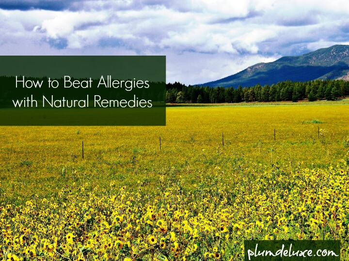 natural remedies from allergies