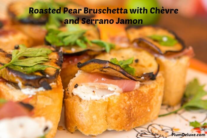 pear bruschetta cover