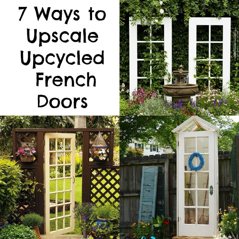 sc 1 st  Plum Deluxe & 7 Ways to Upscale Upcycled French Doors