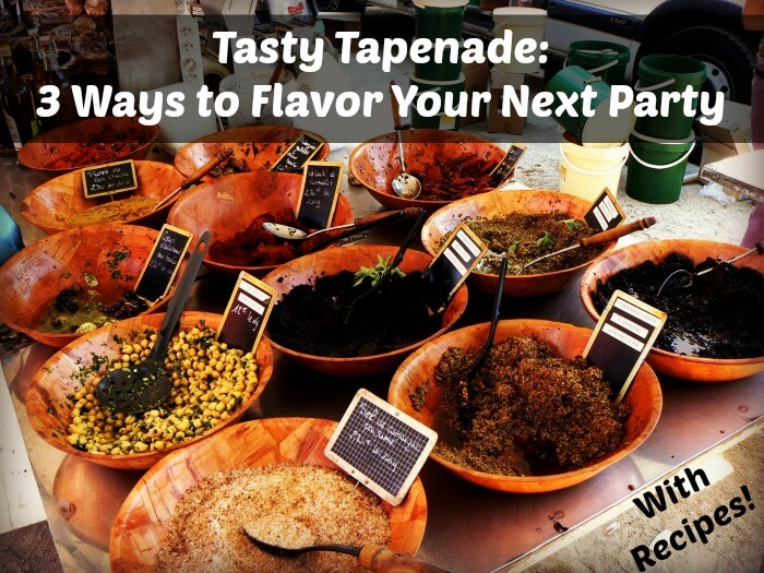 Tapenade cover 1