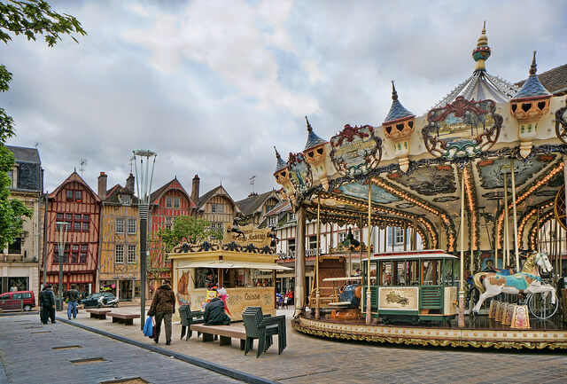 center of Troyes