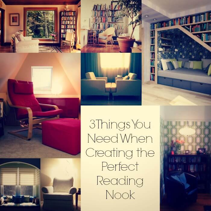 3 things you need when creating the perfect reading nook - Creating ideal reading nooks ...