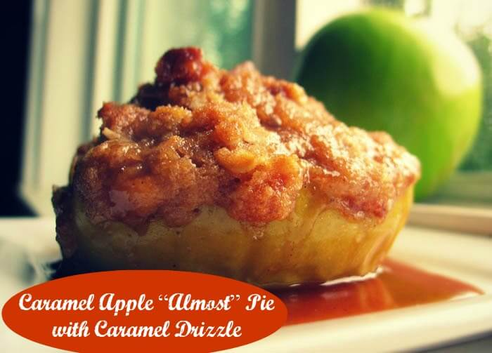 Caramel almost apple pie cover