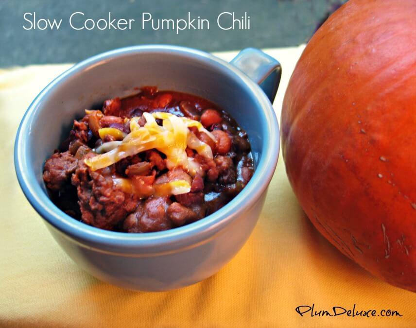 pumpkin chili Its a Pumpkin Party! Pumpkin Chili with Ginger Pumpkin Bites
