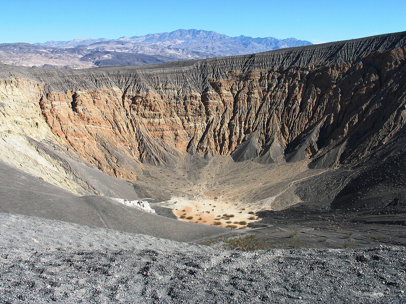 ubehebe crater - death valley national park photos