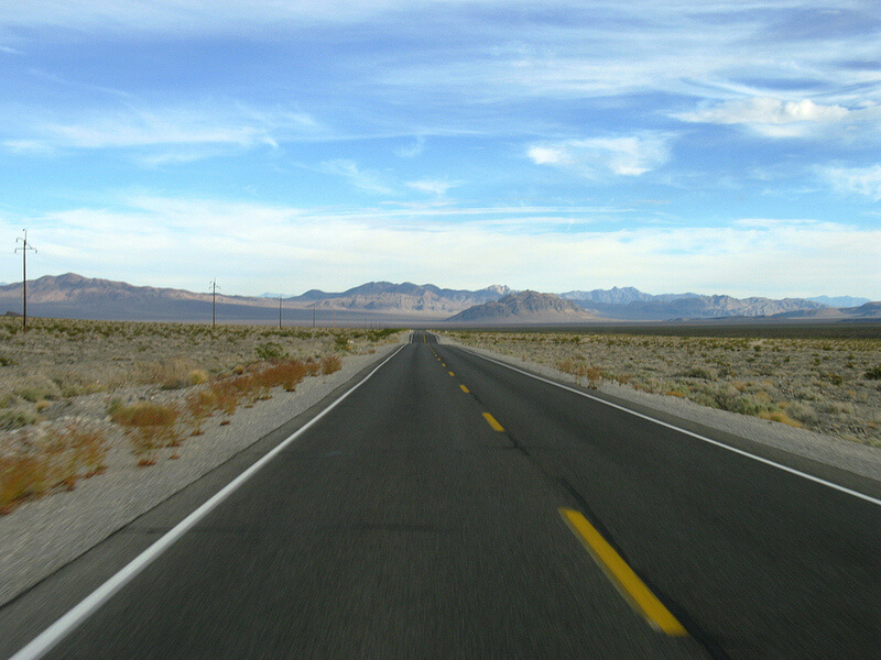 getting to death valley national park
