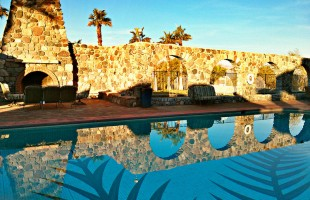 relaxing at the inn at furnace creek