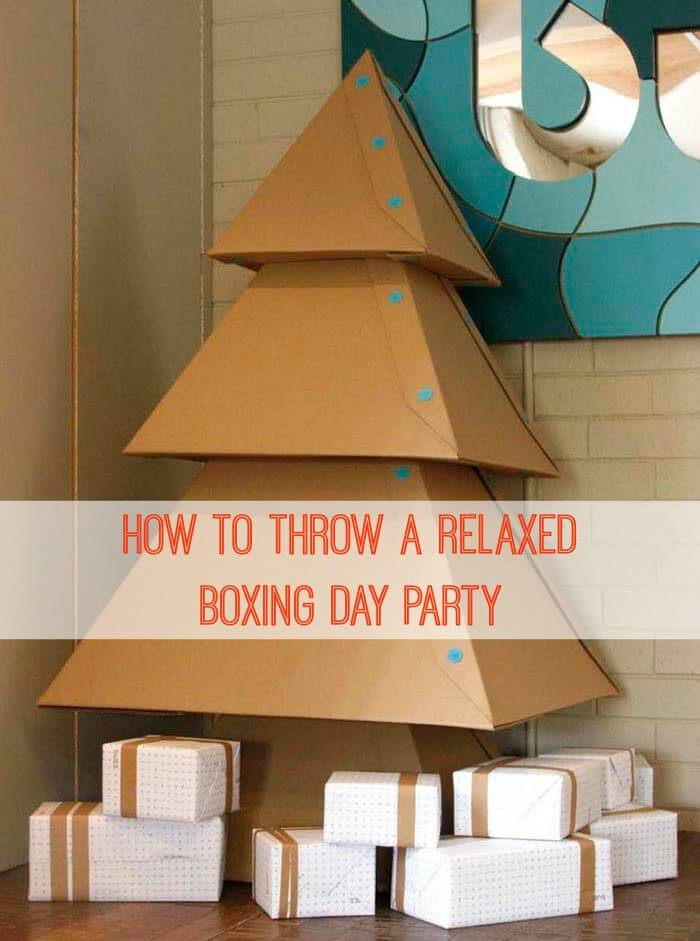 How To Throw A Relaxed Boxing Day Party Adorable Boxing Party Decorations