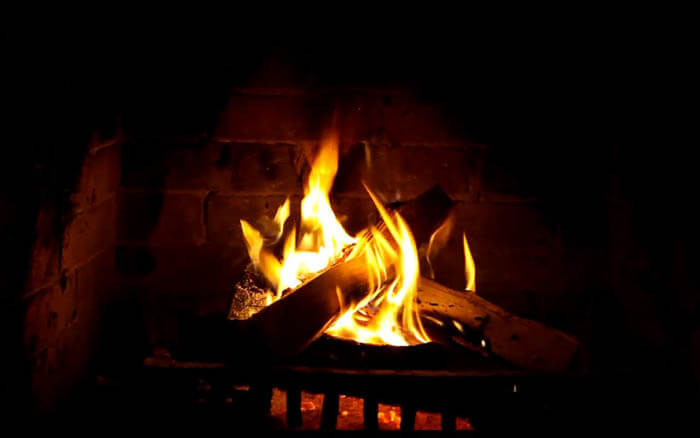 Open Fires How To Enjoy A Crackling Blaze Without A Fireplace