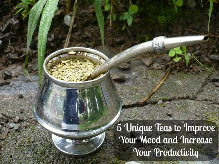 5 teas cover1 5 Unique Teas to Improve Your Mood and Increase Your Productivity