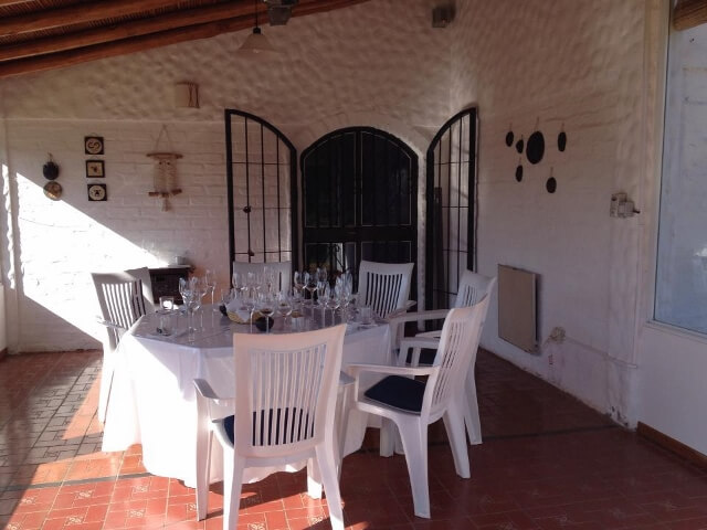 Patio at Domaine St. Diego 640x480 Journey Into the Heart of Argentina's Mendoza Wine Country