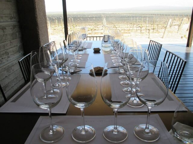 Patio at Pulenta Estate 640x480 Journey Into the Heart of Argentina's Mendoza Wine Country