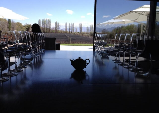 Table at MUN at Casarena 640x458 Journey Into the Heart of Argentina's Mendoza Wine Country