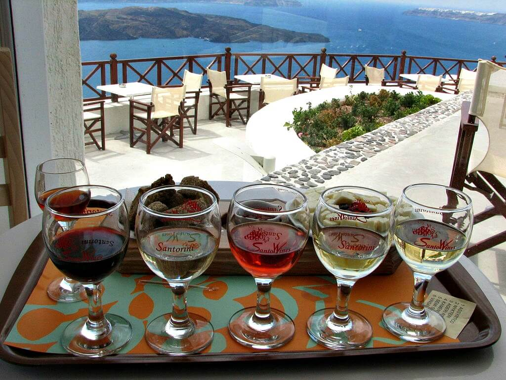 Taking a sip of history try this trio of greek wines with appetizer