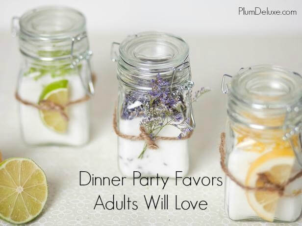 Dinner Party Favors Adults Will Love