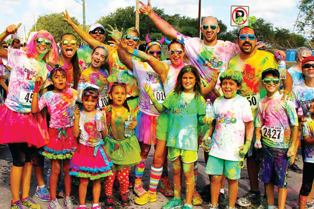 A Splash of Color: 7 Paint Runs You Can't Miss