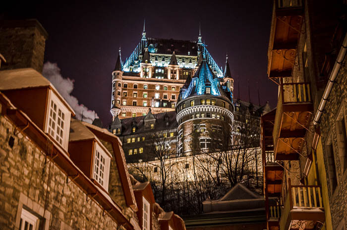 city lights A Romantic Weekend Escape to Québec City, Canada's City of Love