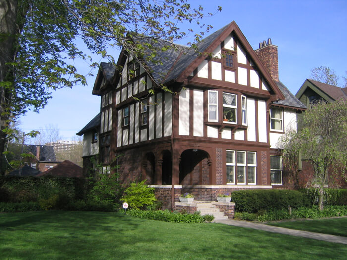 Tudor house styles pictures