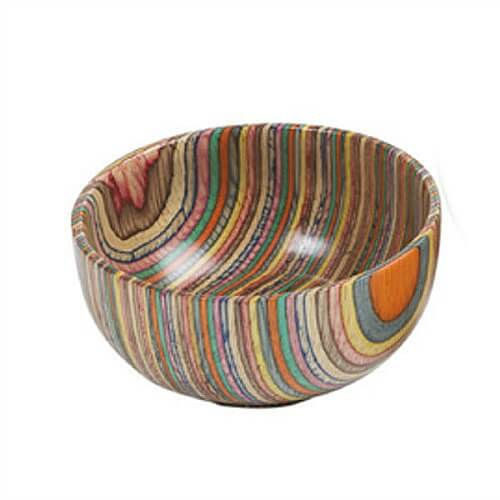 Shop / Colorful Kitchen Collection / Wooden Bowl of Wonder