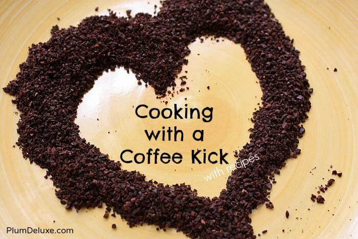 Cooking with a Coffee Kick