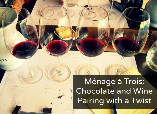 Chocolate and Wine Pairing with a Twist