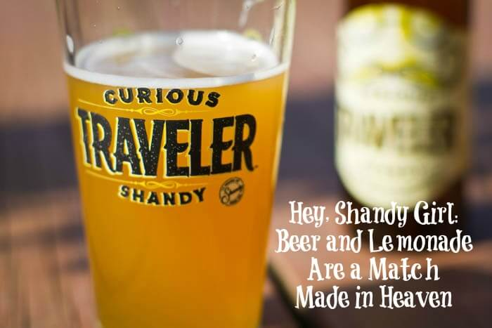 Hey, Shandy Girl Beer and Lemonade Are a Match Made in Heaven