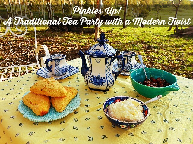 Pinkies Up! A Traditional Tea Party with a Modern Twist