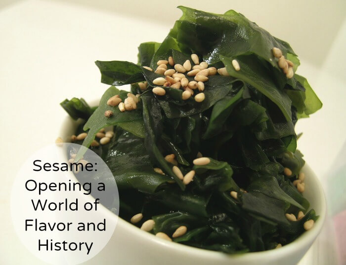Sesame Opening a World of Flavor and History