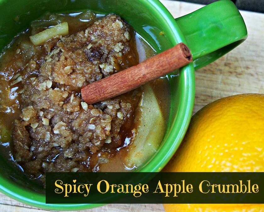 spicy orange apple crisp recipe