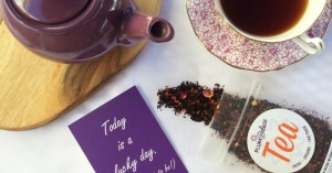 organic tea of the month club - plum deluxe tea subscription box