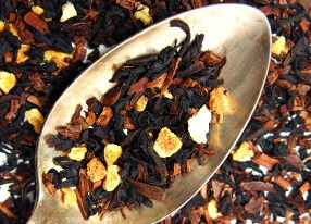 hazelnut orange black tea
