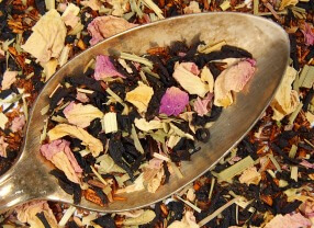 blackberry rose chai