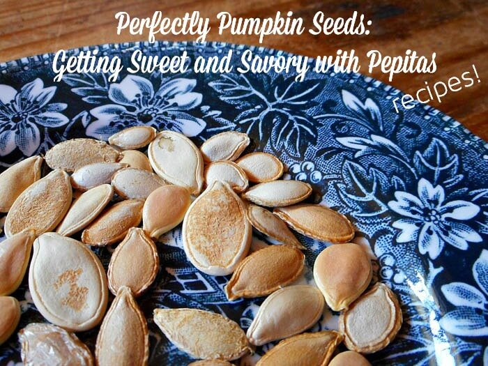 Perfectly Pumpkin Seeds Getting Sweet and Savory with Pepitas