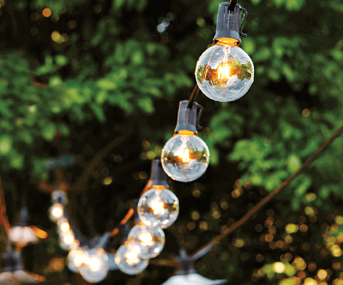 Hardwired Outdoor String Lights : Party Playbook: Tips To Up your Tailgating Game