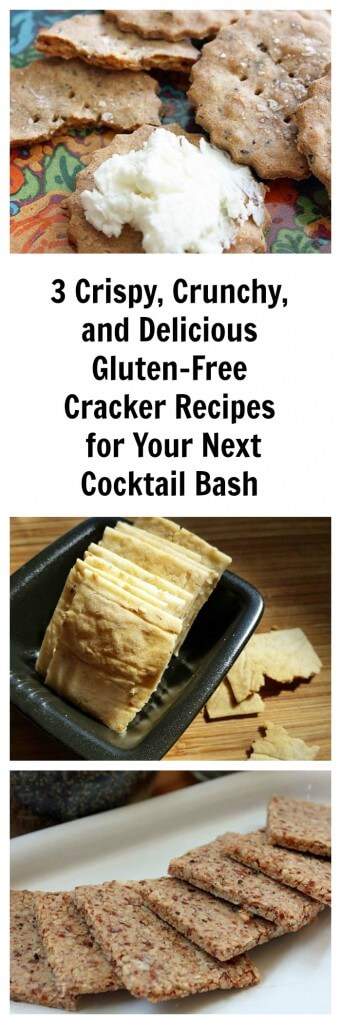 3 Crispy, Crunchy, and Delicious Gluten-Free Crackers for Your Next Cocktail Bash