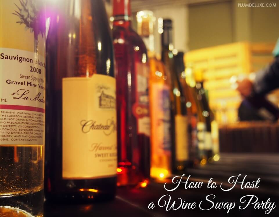 how to host a wine swamp party Where There's a Wine There's a Way: 5 Ideas for Partying with Your Vino