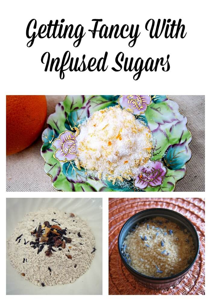 Getting Fancy With Infused Sugars