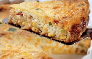 cheddar-corn-quiche