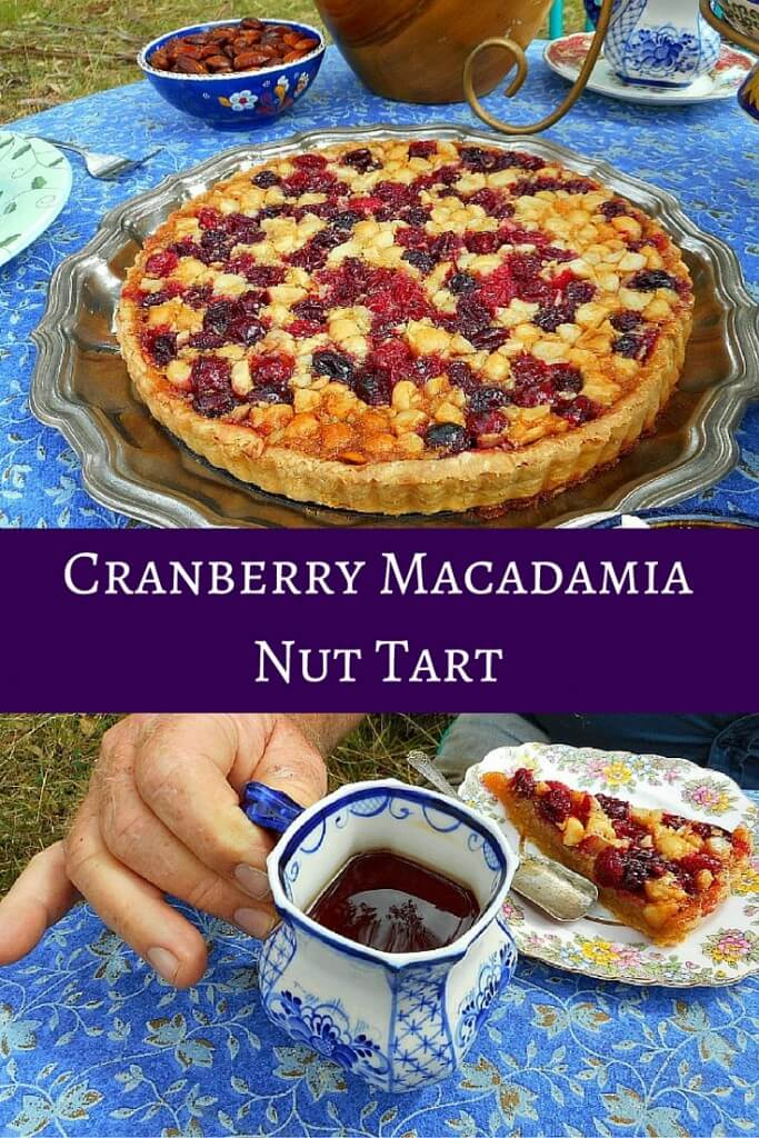 Cranberry Macadamia Nut Tart recipe