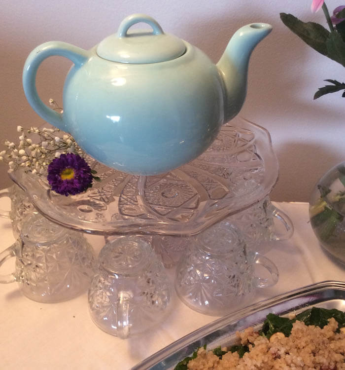 A Tight Squeeze: How to Host a (Tea) Party In a Small Space
