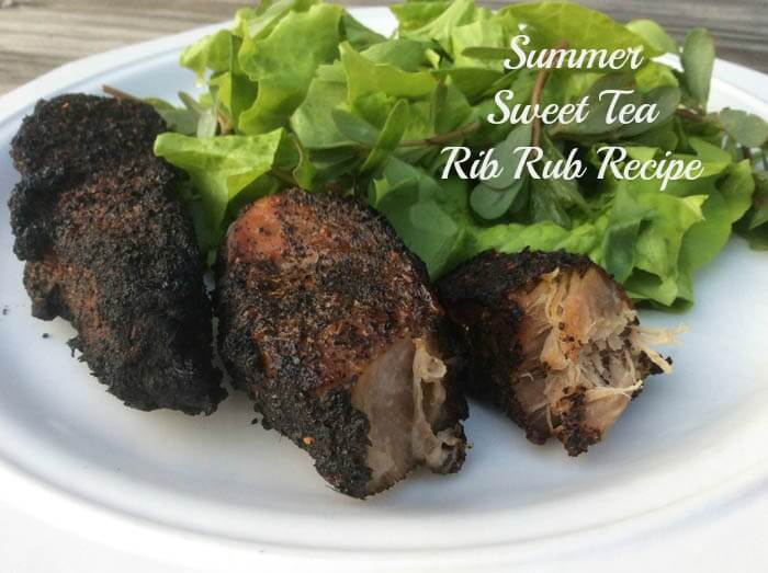 Summer Sweet Tea Rib Rub for Grilling Goodness