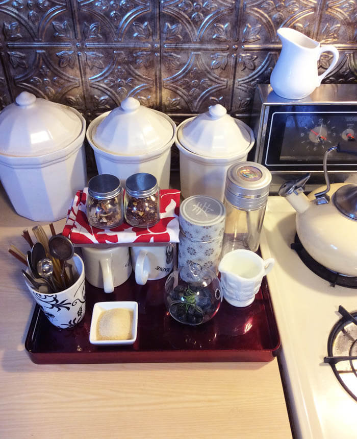 How to Build the Perfect Tea Station
