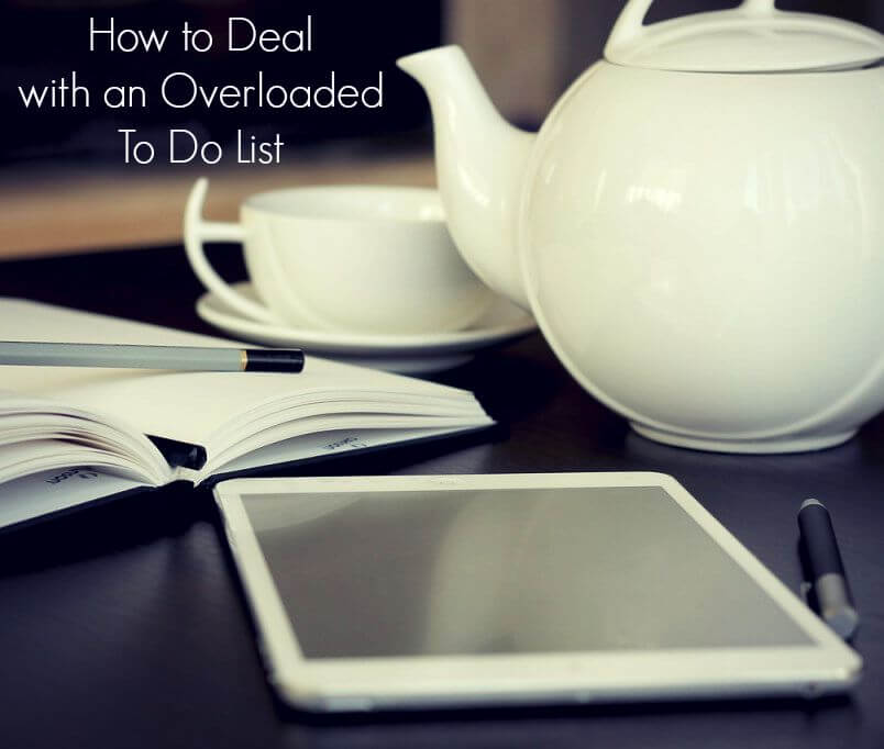 how to deal with an overloaded to do list