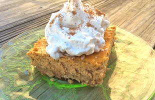 Taste the Craze with Pumpkin Spice Cheesecake Bars