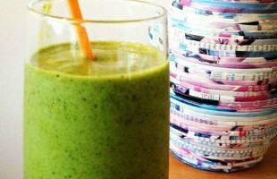 Double Green Tea Smoothie Recipe