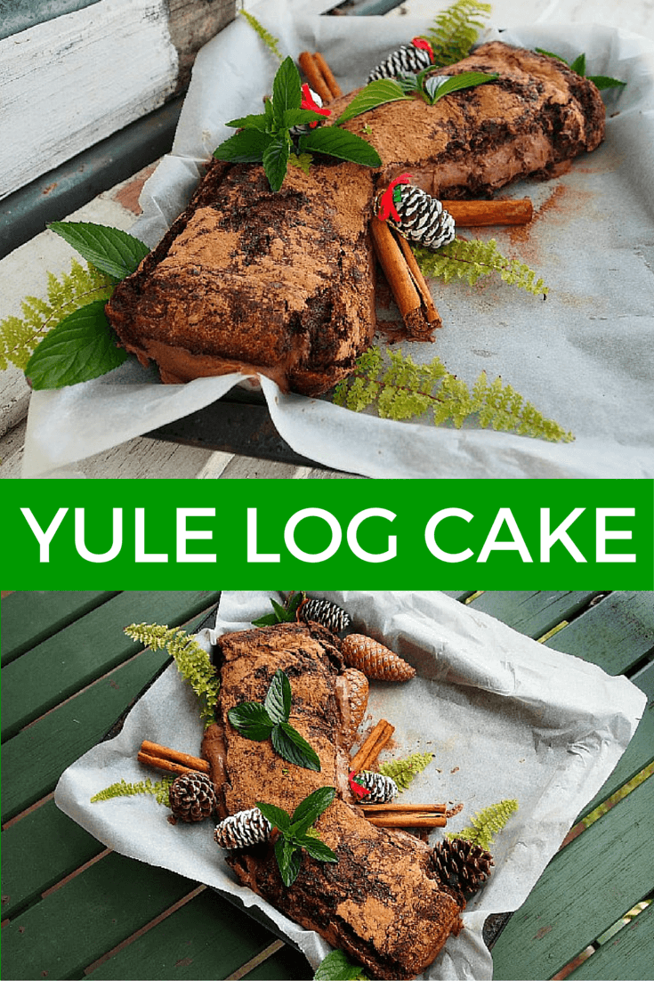 yule log cake recipe